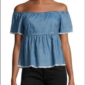 Romeo & Juliet Couture Off The Shoulder Top
